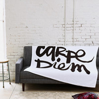 Kal Barteski For DENY Carpe Diem Fleece Blanket - Urban Outfitters