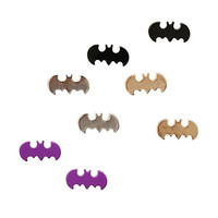 DC Comics Batman Stud Earrings 4 Pair