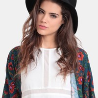 Twist Of Fate Panama Hat