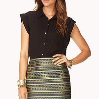 Globetrotter Mini Skirt