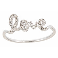 Love Ring - Size 6.5 | Fine Ring | 40140021