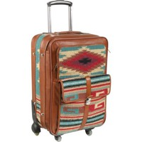 AmeriLeather Odyssey 23 inch Upright Suitcase