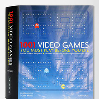 1001 Video Games You Must Play Before You Die By Tony Mott  - Urban Outfitters