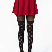 House Of Holland Gingham Tights