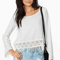 Poetry In Motion Top - Cream