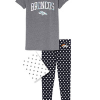 Denver Broncos Boyfriend Tee & Legging Gift Set - PINK - Victoria's Secret