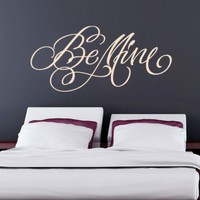 Be Mine Sticker - Moon Wall Stickers
