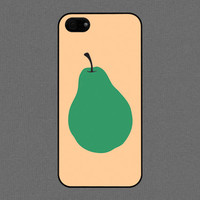 iPhone 5 / 5s case - POP Green Pear - iPhone Case, iPhone 5 Case, Cases for iPhone 5 IPHONE 5