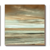 The Surf Canvas Art Set by John Seba at Art.com
