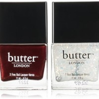butter LONDON Double Take Lacquer and Overcoat Duo