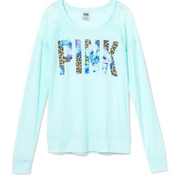 Shrunken Long Sleeve Tee - PINK - Victoria's Secret