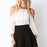 Flirty Flounced Skirt