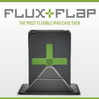 FLUX FLAP: iPad Case with MAGNETS for Unlimited Angles