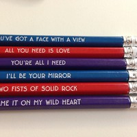 Wild Heart Pencil Set
