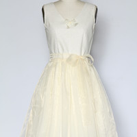 The Look of Love Dress in Cream