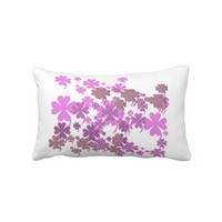 Charming Purple Throw Pillow