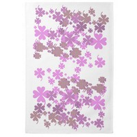 Charming Purple Kitchen Towel