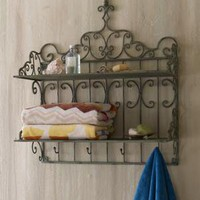 Towel Shelf - Horchow