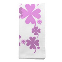 Charming Purple Dinner Napkins Set of 4