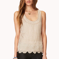 Art Deco Beaded Tank