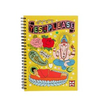 Rosie Wonders Ganesh Tattoo A5 Notebook