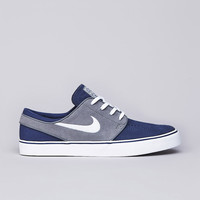 Flatspot - Nike SB Stefan Janoski Midnight Navy / White - Cool Grey