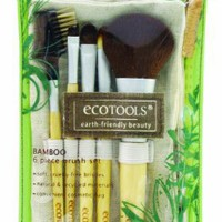 EcoTools BAMBOO 6-pc Makeup Brush Set 1206