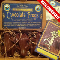 DFTBA Records :: Fair Trade Chocolate Frogs - Milk Chocolate