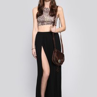 Talia Maxi Skirt - Black - Bottoms - Clothes | GYPSY WARRIOR