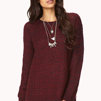 Cozy Marled Sweater