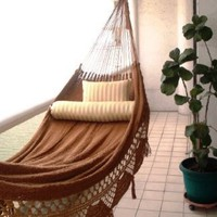 Nicamaka Couples Hammock, Brown
