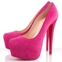 Christian Louboutin Daffodile 160mm Hot Pink