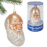 Charles Darwin Christmas Ornament