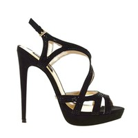 Blink Cut Out Strap Heeled Sandal