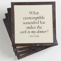 Ben's Garden 'Cork to My Dinner' Coaster Set | Nordstrom