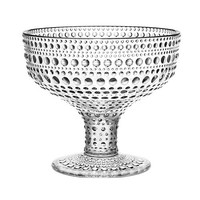 Kastehelmi Footed Bowl in Clear - Pop! Gift Boutique