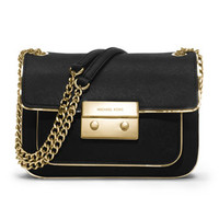 MICHAEL Michael Kors Small Sloan Specchio Shoulder Flap Bag