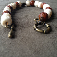 Tribal Bone O.X. Toggle Bracelet
