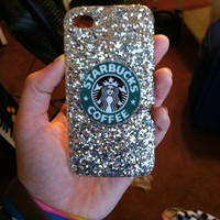 Iphone 4/4s/5 Sparkle Starbucks Case