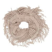 David & Young Open Weave Infinity Scarf (Juniors) | Nordstrom