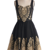 In the Chandelier Light Dress | Mod Retro Vintage Dresses | ModCloth.com