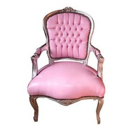 Shabby Chic Pink Faux Leather Chair Photo, Detailed about Shabby Chic Pink Faux Leather Chair Picture on Alibaba.com.