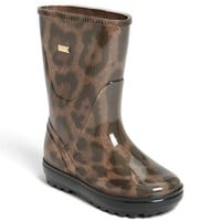 Dolce&Gabbana 'Leo' Rain Boot (Walker, Toddler, Little Kid & Big Kid) | Nordstrom