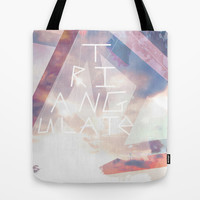 Triangulate Tote Bag by Ben Geiger