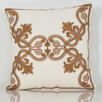 www.roomservicestore.com - Henna Tattoo Embroidered Pillow (Out of Stock)