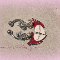 Best Friends Belly Rings, BFF jewelry,Direct Checkout, Ready to Ship