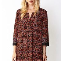 Remixed Boho Shift Dress