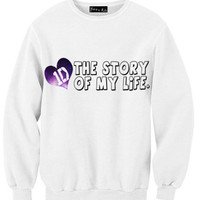 The Story of My Life 1D Sweatshirt | Yotta Kilo