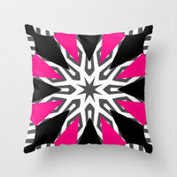 Hot Diamonds Throw Pillow by Abstracts by Josrick