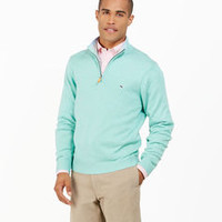 Winter Sweaters: Prouts Neck Quarter Zip Sweater for Men